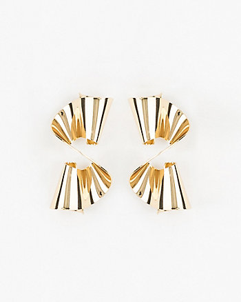 Metal Drop Earrings