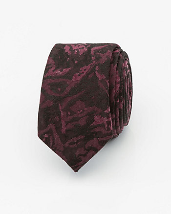Brocade Skinny Tie
