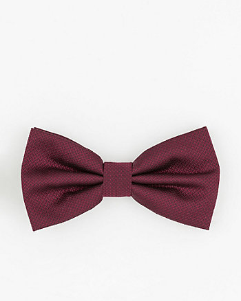 Novelty Print Microfibre Bow Tie