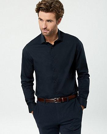 Stretch Poplin Slim Fit Shirt