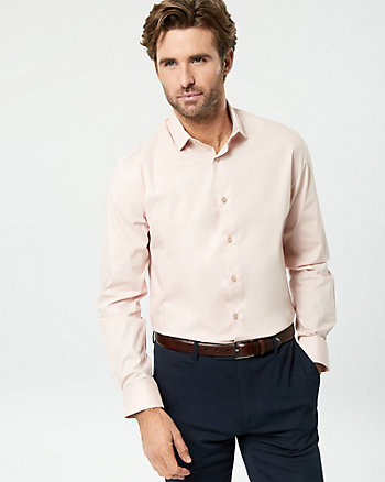 Stretch Poplin Slim Fit Shirt