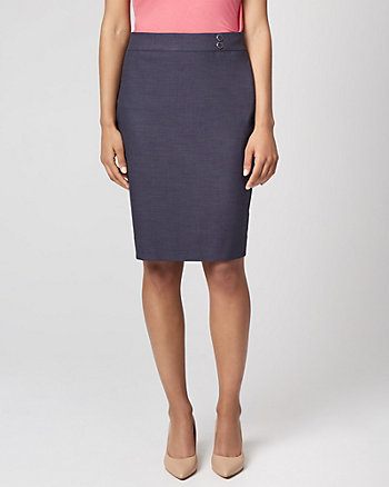 4630ca45df85 Viscose Blend Pencil Skirt