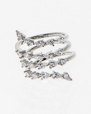 Gem Coil Ring