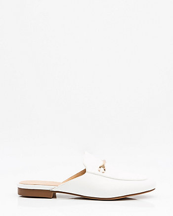 Almond Toe Backless Loafer