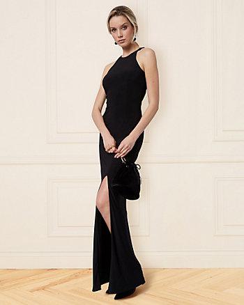 Knit Halter Gown