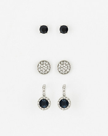 Set of Gem Earrings