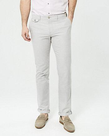 Pantalon deux tons en coton