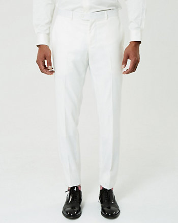 Twill Slim Leg Pant