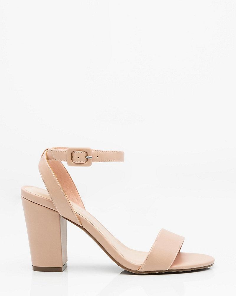 258690c1c95 Ankle Strap Block Heel Sandal