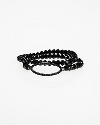 Firepolish Gem Stretch Bracelet