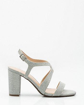 Glitter Criss-Cross Sandal