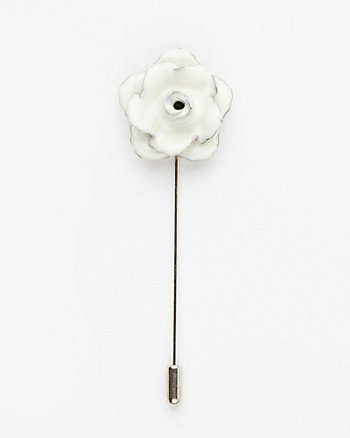 Floral Metal Lapel Pin