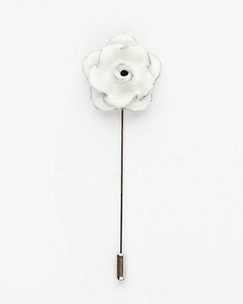 Floral Metal Lapel Pin