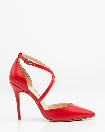 Pointy Toe Criss-Cross Sandal