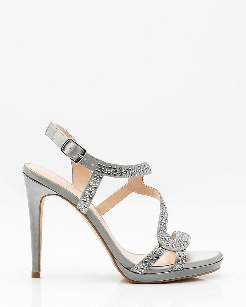 fa0af928a10 YOU MAY ALSO LIKE. Previous. image. Jewel Embellished Satin Platform Sandal