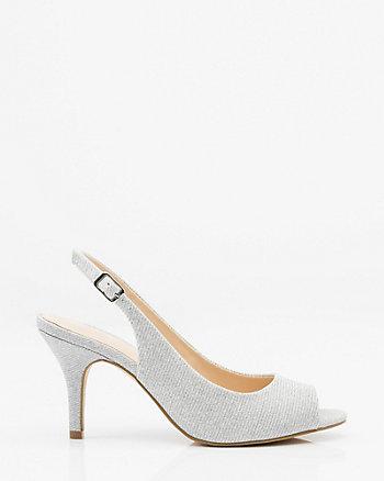 Glitter Slingback Sandal