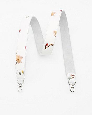 Floral Print Guitar Bag Strap