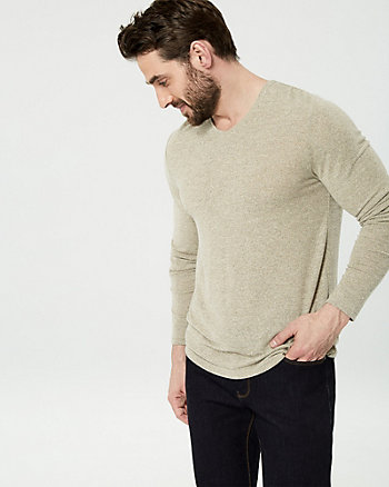 Knit V-Neck Top