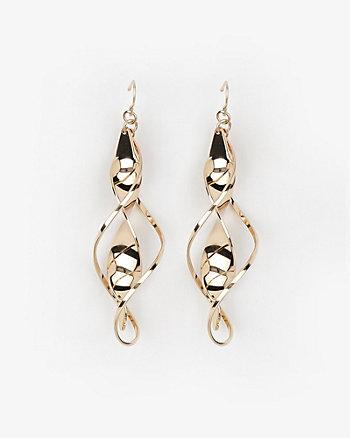Twisted Metal Earrings