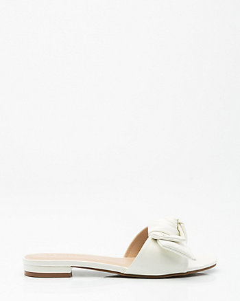 Knotted Slide Sandal