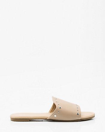 Studded Slide Sandal