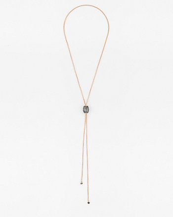 Gem Slider Y-Necklace