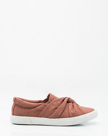 Knotted Slip-On Sneaker