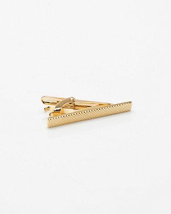 Textured Metal Tie Clip