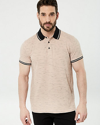 Tonal Cotton Piqué Polo Shirt