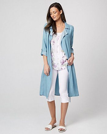 Lyocell Robe Jacket