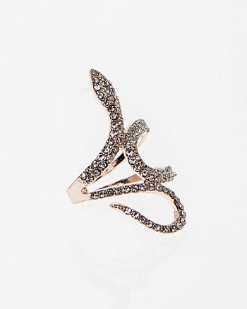 Gem Snake Ring