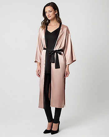 Satin Duster Robe Jacket