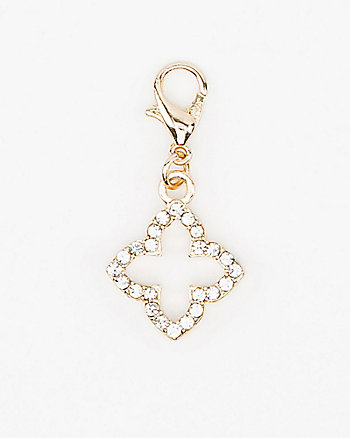 Clover-Shaped Bracelet Charm