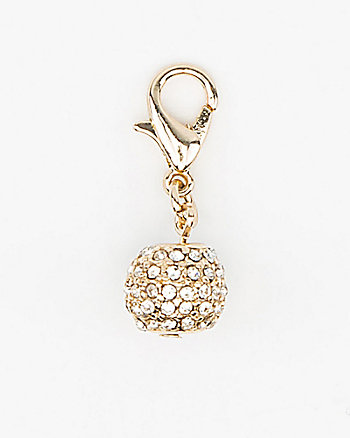 Ball-Shaped Bracelet Charm
