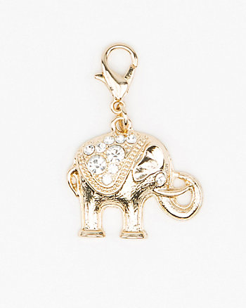 Elephant-Shaped Bracelet Charm
