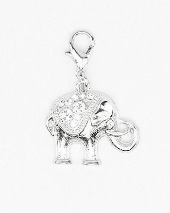 Elephant-Shaped Bracelet Charm