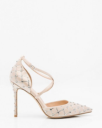 Jewel Embellished d'Orsay Pump