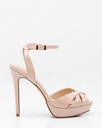 Patent Platform Sandal