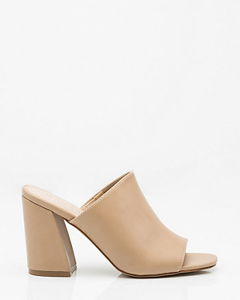 Open Toe Angled Heel Slide