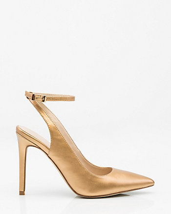 Ankle Strap Pump