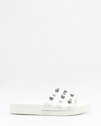 Jewel Embellished Slide
