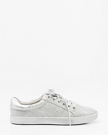 FLAT ROUND TOE LACE UP SNEAKER