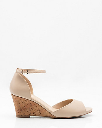 Open Toe Wedge Sandal