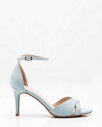 Criss-Cross Ankle Strap Sandal
