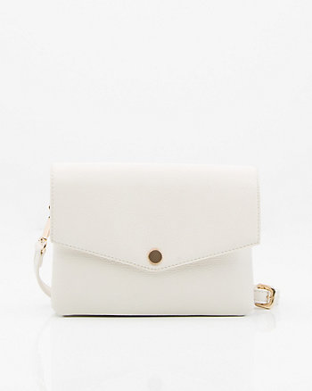 Leather-Like Crossbody Bag