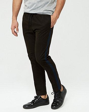 Pantalon de jogging en mélange de coton
