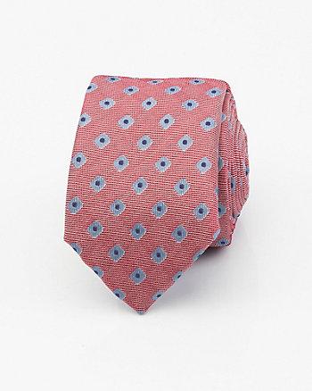 Italian-Made Geo Print Silk Tie