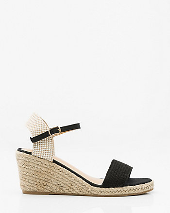 Rope Wedge Sandal