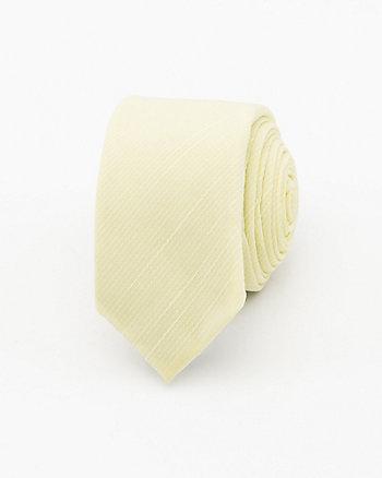 Textured Microfibre Skinny Tie
