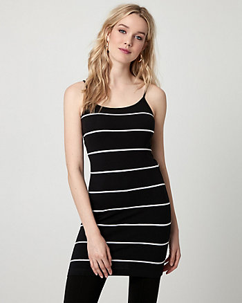 Stripe Jersey Tunic Camisole